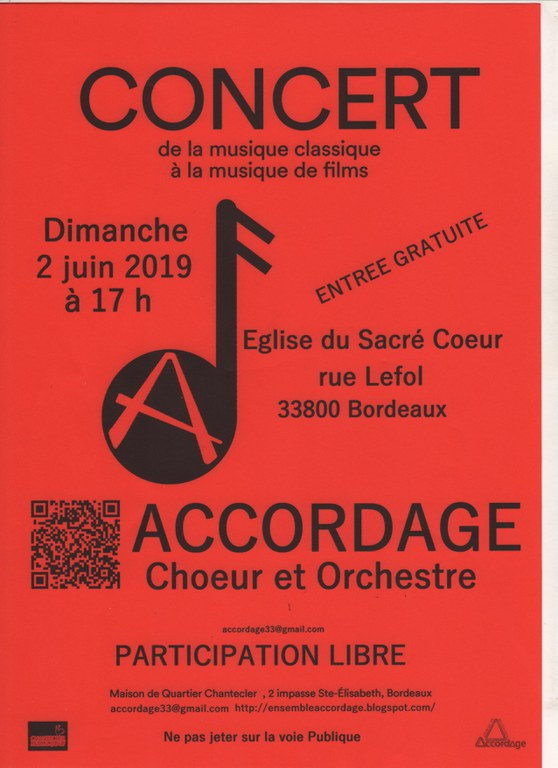 Concert ACCORDAGE juin 2019