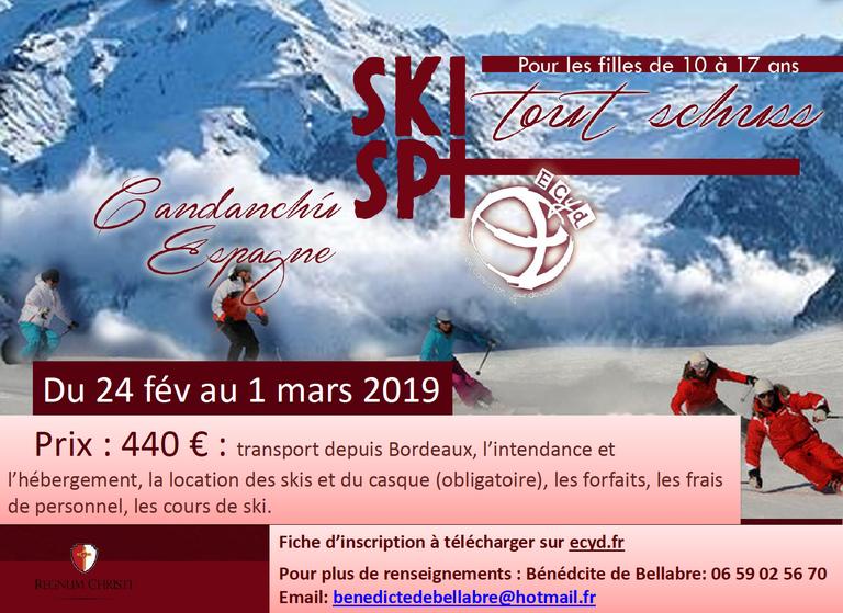 Camp ski Candanchu 2019