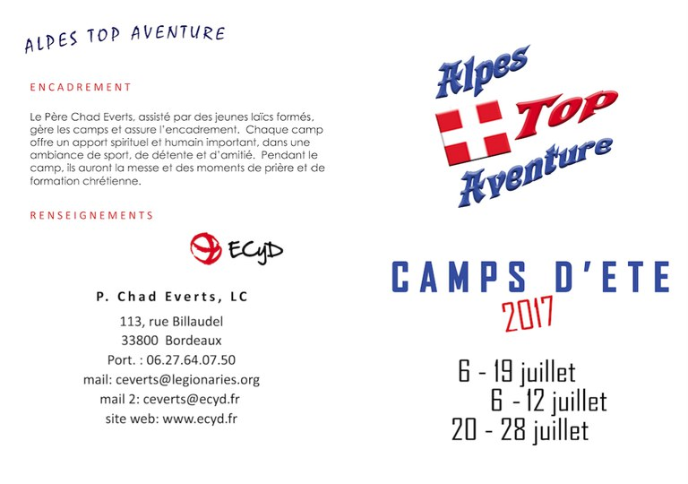 Top aventure Alpes 2017-1