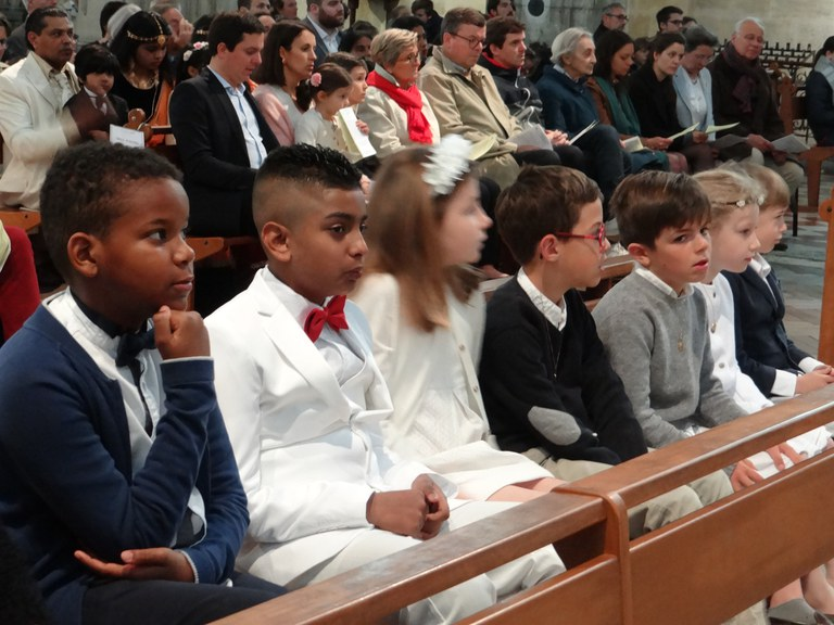 1ères communion 2019-02