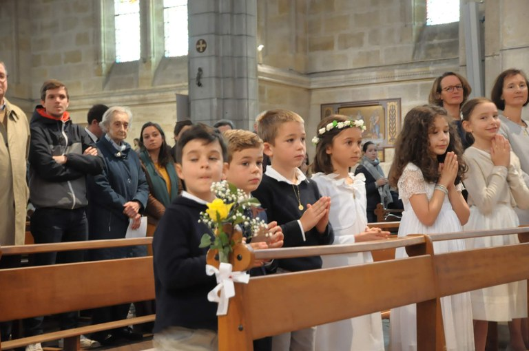 1ères communion 2019-01