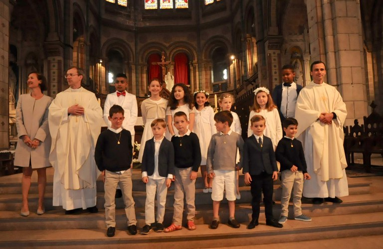 1ères communion 2019-06