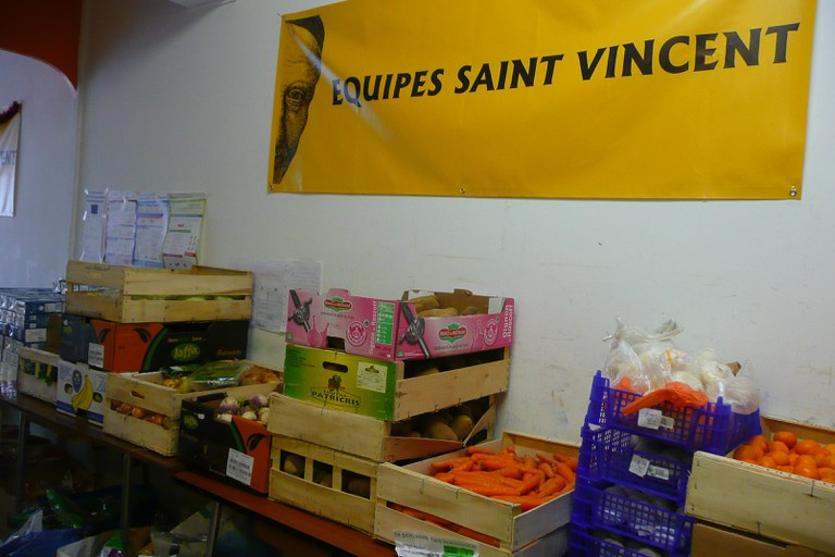 St Vincent - bq alimentaire